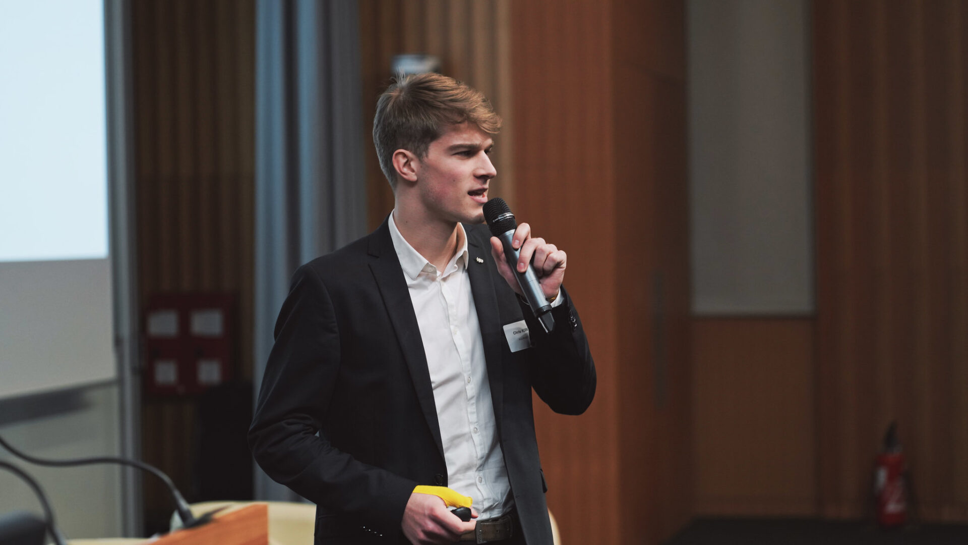 Christoph Koenig speaks to ESCP Business School Student