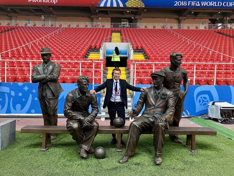 Andreas Kaeshammer, global Head of Football at Infront Sports & Media AG