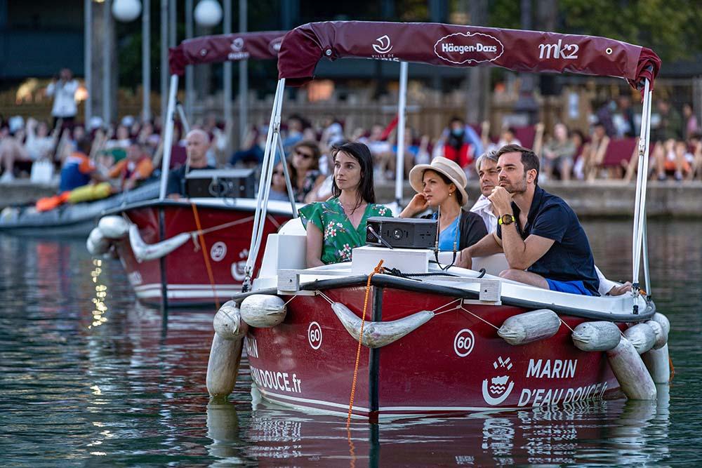"""""""Boat-In"""" at Paris Plage © MK2"""