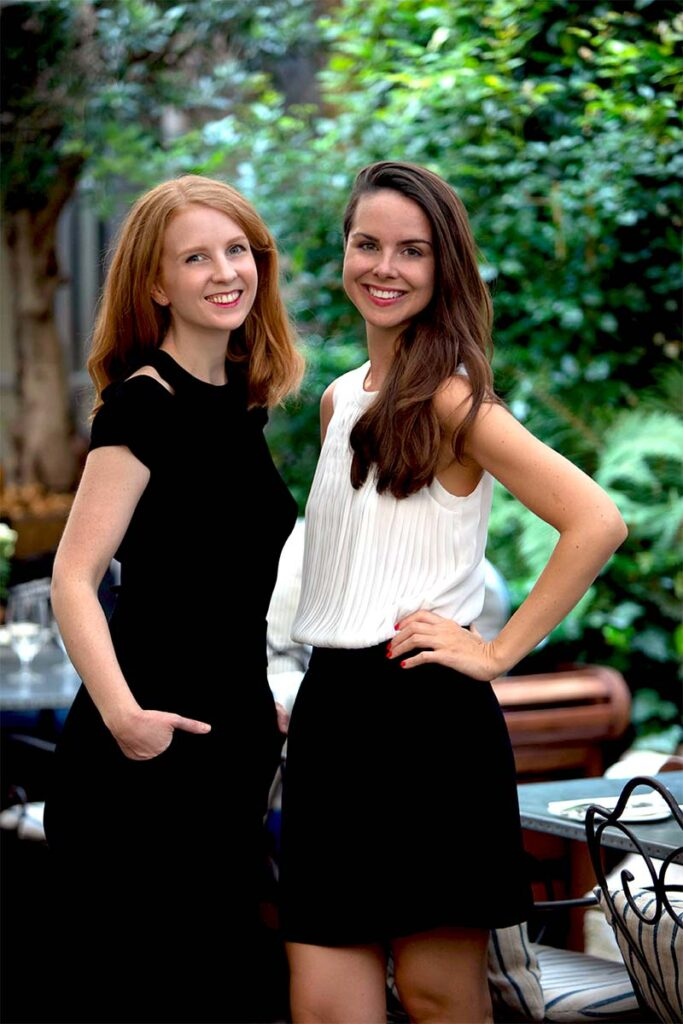 Daria Chernova and Elodie Andriot, cofounders of Renowme and ESCP graduates.