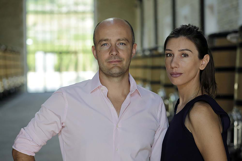 Photo of Erwan and Eve Faiveley (@Mark Volk)