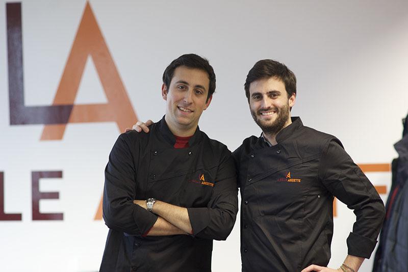 Co-Founders of La Belle Assiette, Giorgio Riccò (left) and Stephen Leguillon (right)