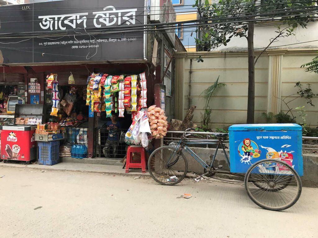 Market in Bangladesh.