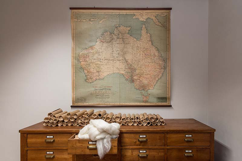 Photo of a map from Vitale Barberis Canonico
